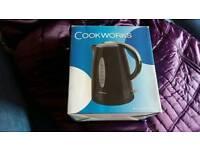 Cookworks black kettle