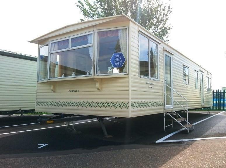 Static Caravan Clacton-on-Sea Essex 2 Bedrooms 6 Berth Carnaby Belvedere 2005