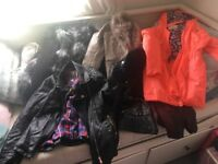 Girls lot of river island jackets