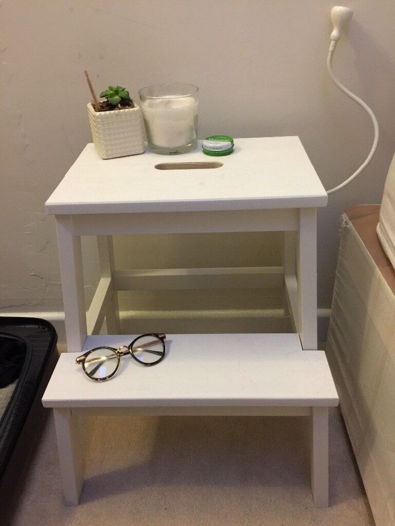 IKEA Bekvam Step Stool (white)