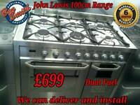 John Lewis Range Cooker 100cm
