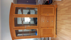 Solid Wood Buffet and Hutch *only*