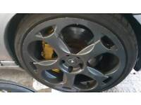 Lambo alloy wheels