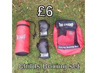 Child's Boxing Set