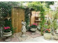 Cash Paid for Garden Terracotta/Stone/Wooden/Galvanised Items, Statues, Ironware & Vintage Furniture