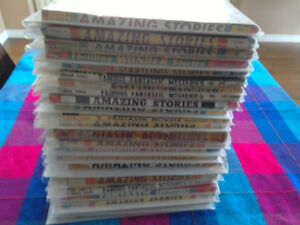Pulp Fiction Mags.1940's and 1950's -Sci-fi / Horror
