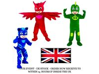 UK Seller | PJ Mask Mascot Costume | Full adult outfit | Free Next day delivery | Paypal Accepted