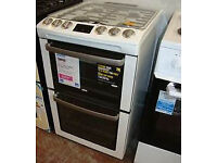 Zanussi gas cooker 60cm in gloss white --B/NEW-- with warranty and delivery available