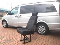 Mercedes Benz Vito Seats single rear seat