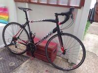 Specialized Allez road bike racer carbon forks light weight commuter bike bargain