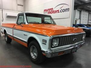 1972 Chevrolet CHEYENNE PICKUP 454 Restored Factory AC