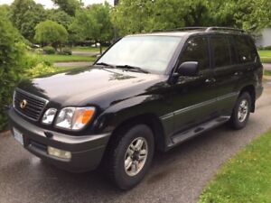 1999 Lexus LX SUV, Crossover