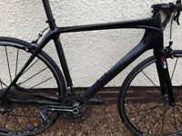 Carbon Ribble frame & fork set