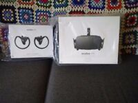 Brand New - Oculus Rift (CV1) VR Headset + Touch Controllers + 7 Software Titles