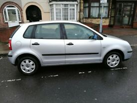 Volkswagen Polo 1.4 Twist Hatchback, 5 Doors 2005, Petrol Manual Silver Only 66954 miles SALE £1850