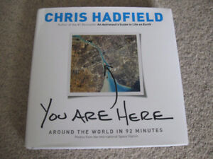 Chris Hadfield-You Are Here-Autographed copy-Excellent  +