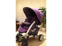 Graco Quattro Tour Sport Travel System Pram With Car Seat And Seat Base