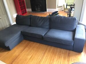 IKEA Kivik sofa/couch with chaise attachment