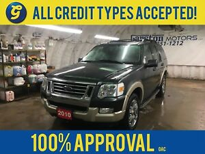 2010 Ford Explorer EDDIE BAUER*7 SEATER*4x4*ALLOYS*ROOF RACK*LEA