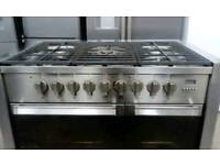 Stainless Steel A+ Class Gas Technik Range Cooker With 5 Burners