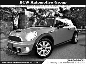 2012 Mini Cooper S Chrome Line Certified Must See $18.995.00