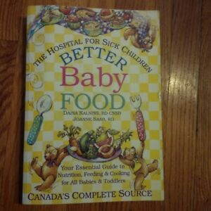 Better Baby Food book