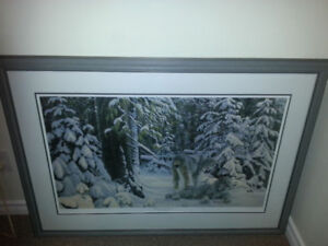 Nick may LE framed Winter in the boreal 2002