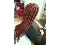 Luton Afro- Caribean hairstylist in weaves,Wigs,Braids,Crochet and perms