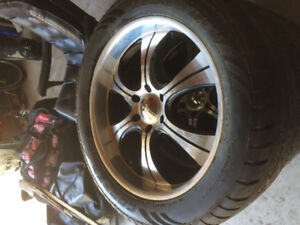 """22"""" boss rims with cooper tires PRICE REDUCTION!!!"""