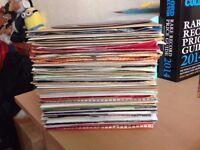 """Job Lot of 7"""" Vinyl Records (68 in total). 60s-80s. Elvis/ELO/Sinatra/Ross/Quoetc."""