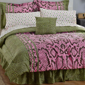 Snake King 12pc Bed Set, New