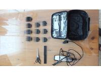 Excellent condition Wahl chrome pro clipper kit
