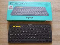 Logitech K380 Bluetooth Keyboard UK Layout