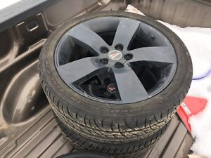 """19"""" rims with tires"""