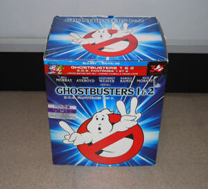 Ghostbusters 1 And 2 Blu-ray Bd Limited Edition Gift W/ Slimer