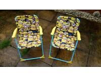 Childrens Minion Deck Chairs