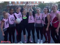 Social netball leagues in Camden