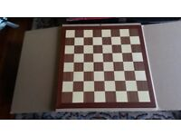 Inlaid chess board