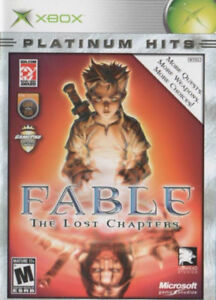 Fable Lost Chapters Xbox 360/original Xbox