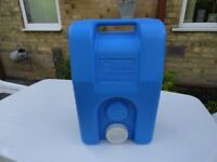 USED FRESH WATER CONTAINER