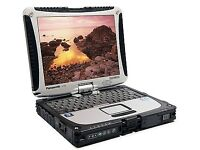 TOUCHSCREEN Panasonic ToughBook CF-19 Laptop 1.06Ghz Warranty Office SERIAL PORT