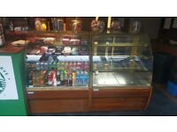 2 TRIMCO REFRIDGERATED DISPLAY CABINETS