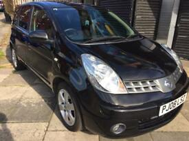 2008 NISSAN NOTE 73K FULL MOT IMMACULATE CONDITION