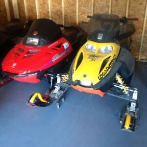 2006 MXZ 600 & 1997 SKI-Doo Formula