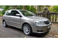 2004 TOYOTA COROLLA 1.8 TSPORT VVTLI 190 BHP GOOD HISTORY DRIVES SPOT LOTS OF HISTORY AND INVOICES
