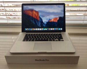 "Excellent Condition Macbook Pro 15.4"" with Retina Display"