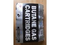 Hi Gear 220g Butane Gas Cartridge (4 pack)
