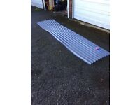 Plastic corrugated sheets