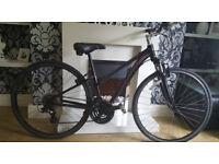 ladies raleigh urban hybrid/road bike