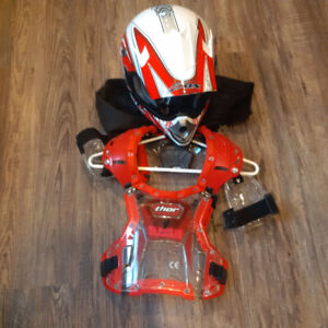 Child's Helmet and Chest Protector